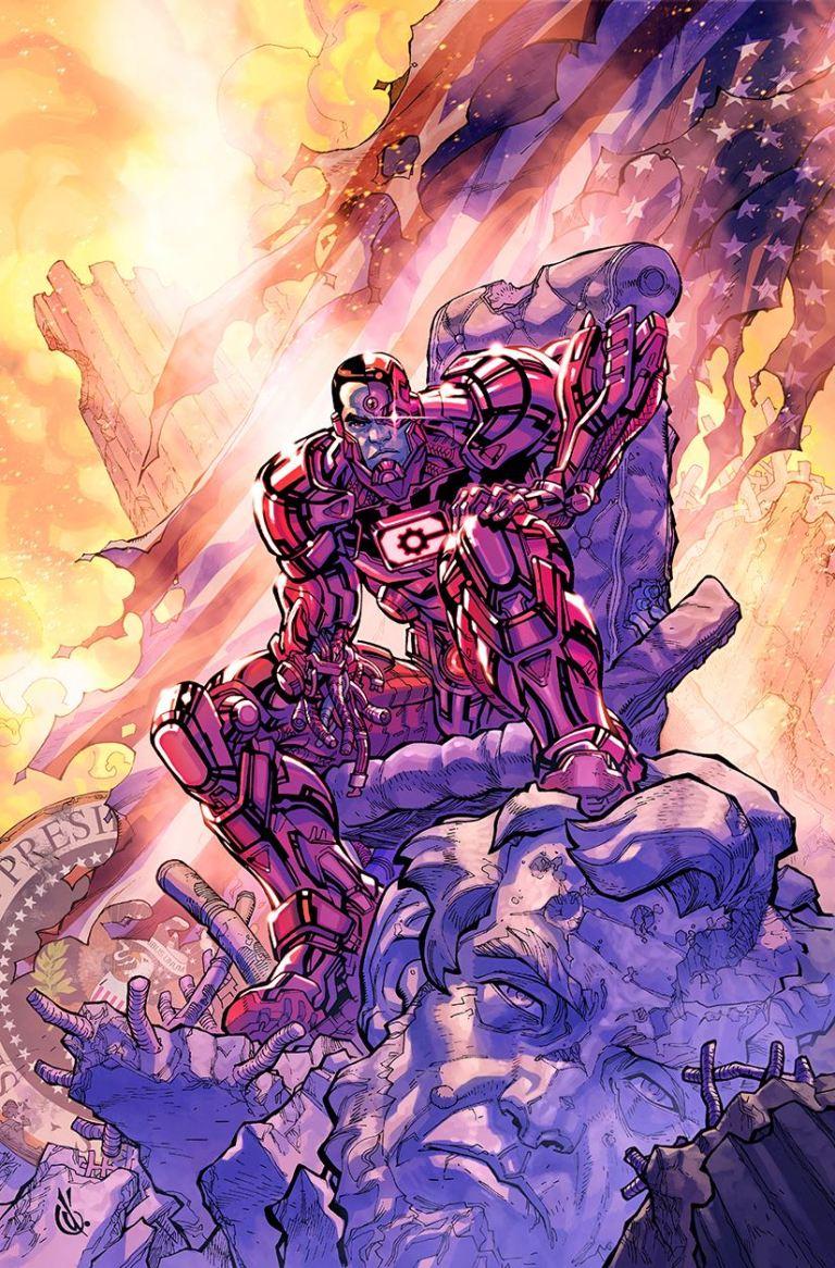 Cyborg #16 (Cover B Carlos D'Anda)