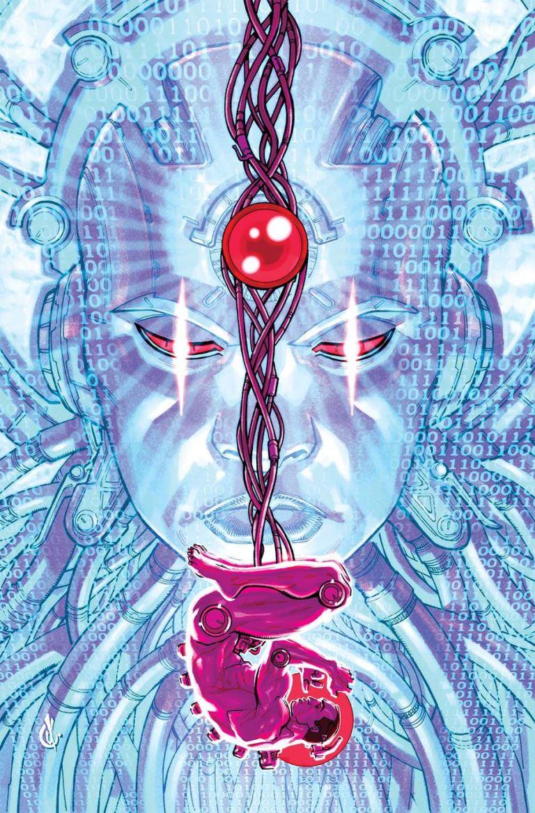 Cyborg #17 (Cover B Carlos D'Anda)