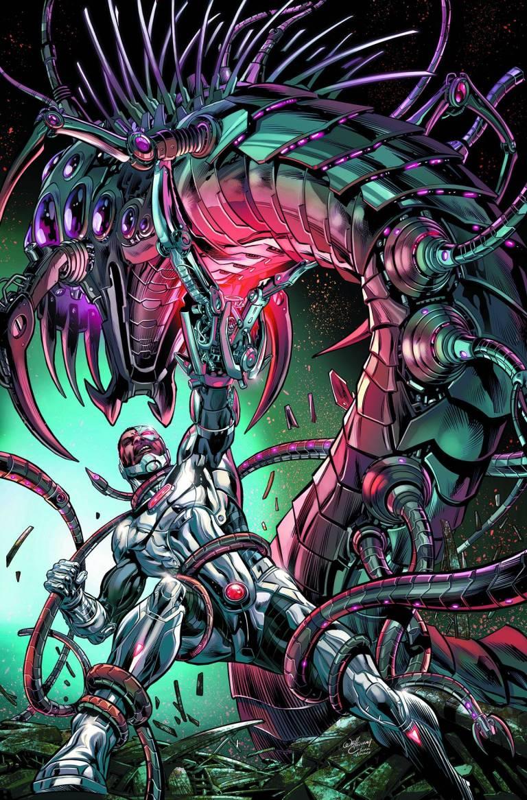 Cyborg #2 (Cover A Will Conrad)