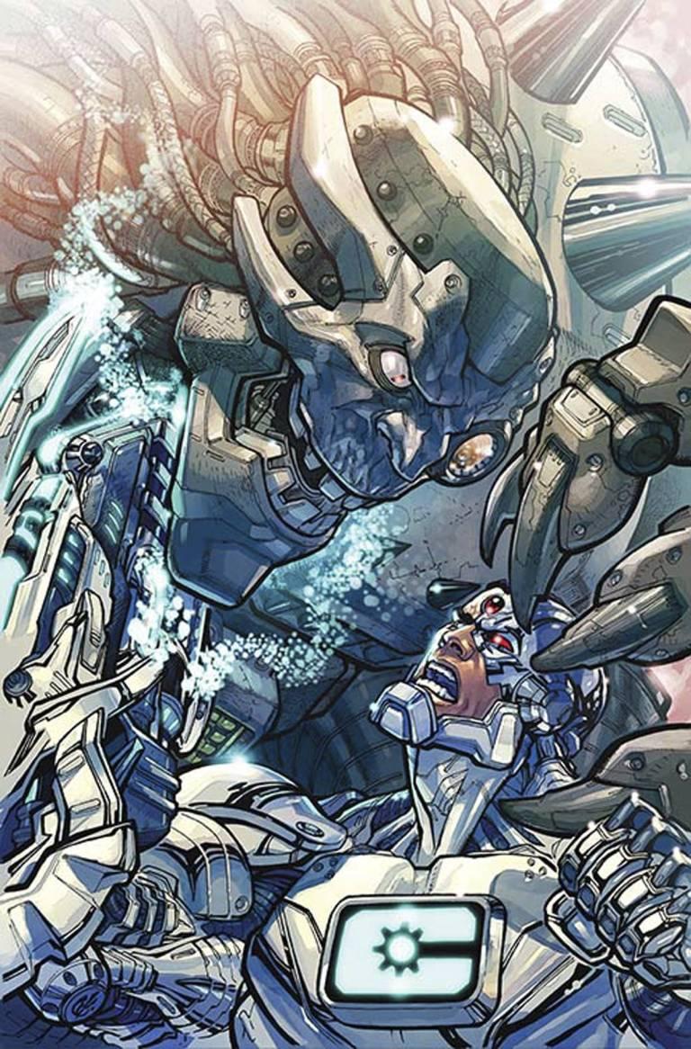 Cyborg #2 (Cover B Carlos D'Anda)