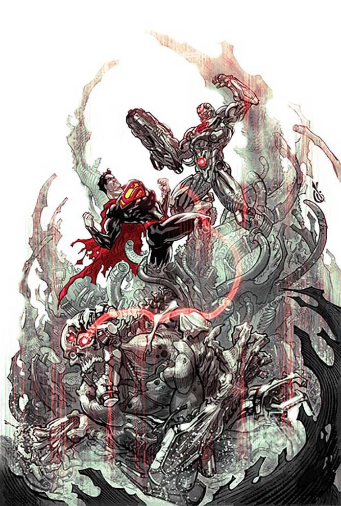 Cyborg #3 (Cover A Will Conrad)
