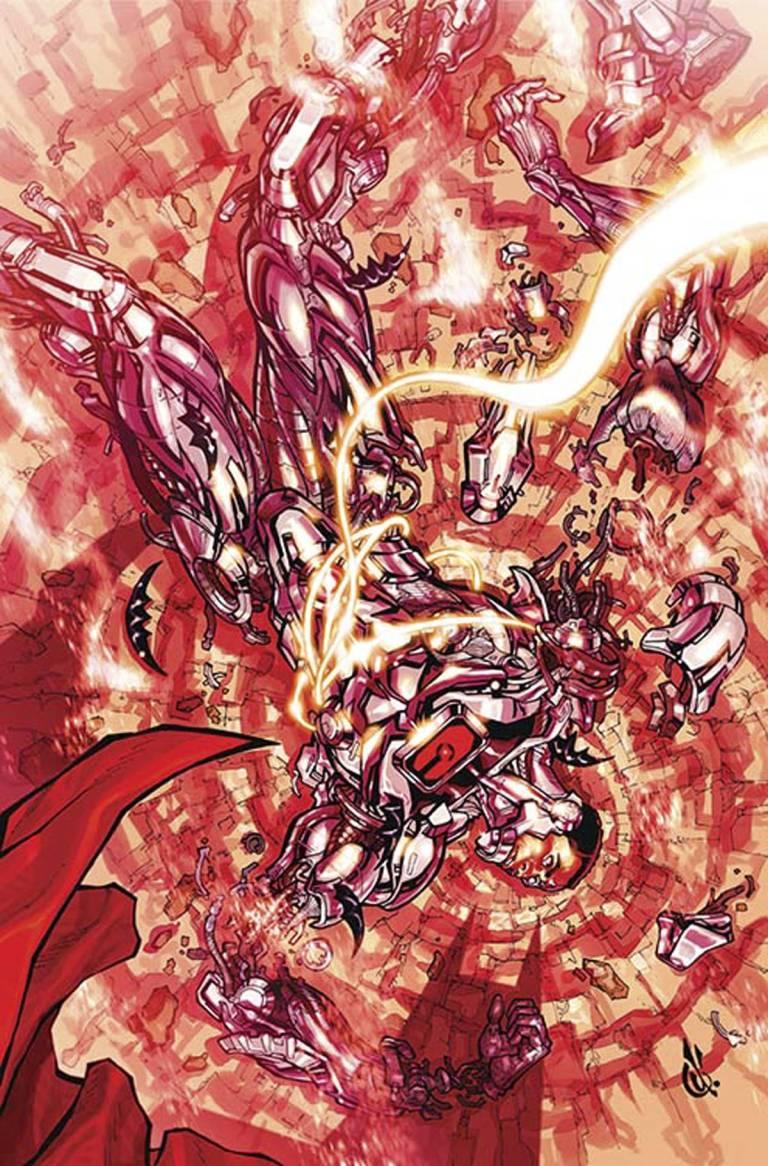 Cyborg #4 (Cover B Carlos D'Anda)