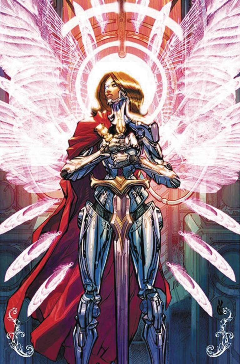 Cyborg #5 (Cover B Carlos D'Anda)