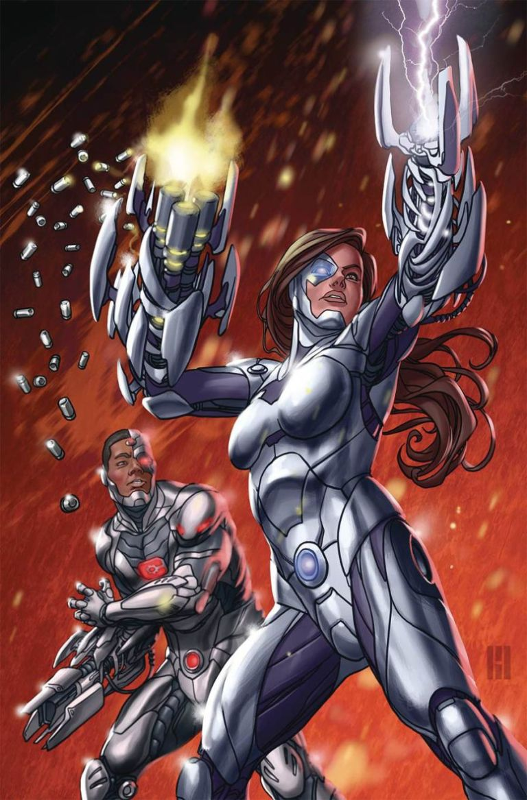 Cyborg #6 (Cover A Mike Choi)