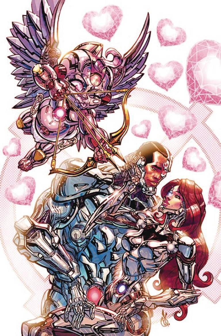 Cyborg #6 (Cover B Carlos D'Anda)