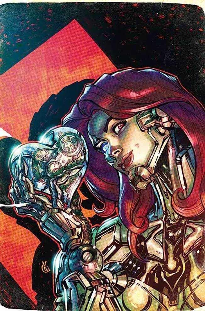 Cyborg #7 (Cover B Carlos D'Anda)