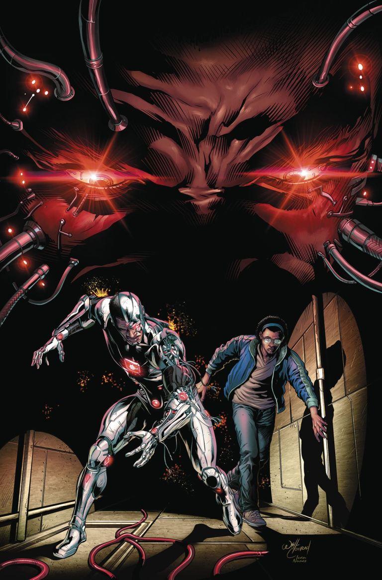Cyborg #8 (Cover A Will Conrad)