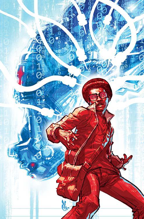 Cyborg #8 (Cover B Carlos D'Anda)