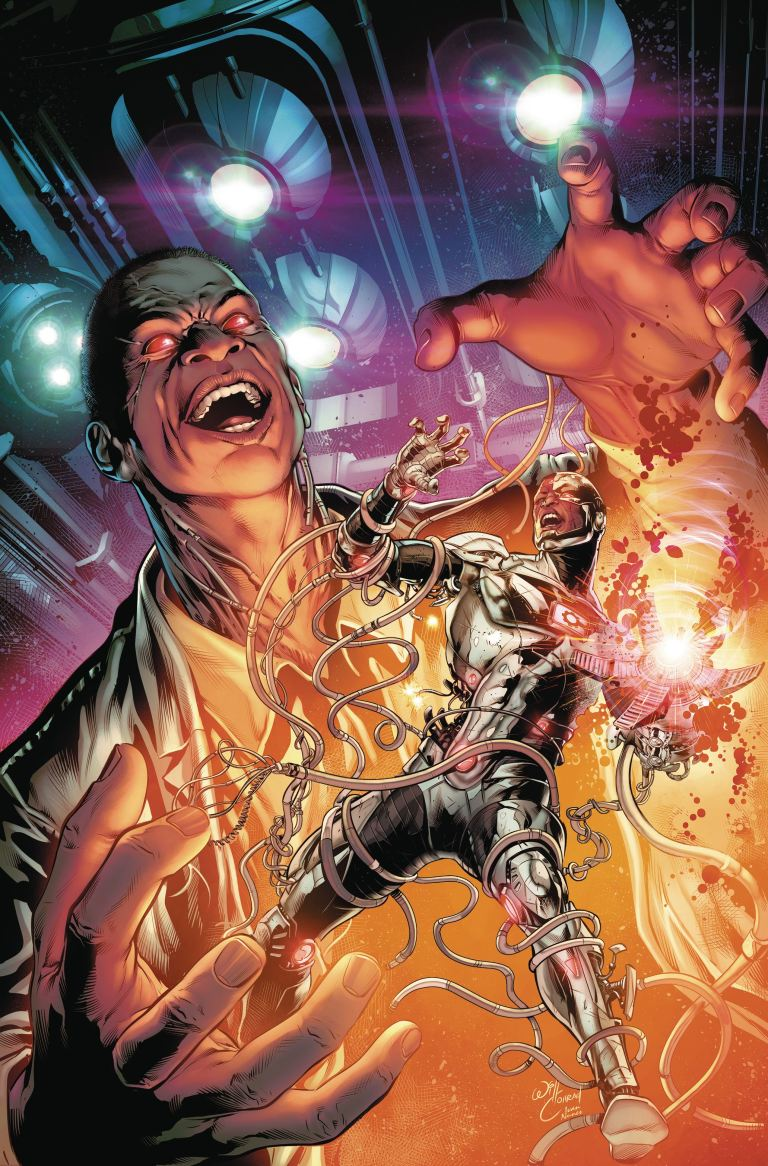 Cyborg #9 (Cover A Will Conrad)