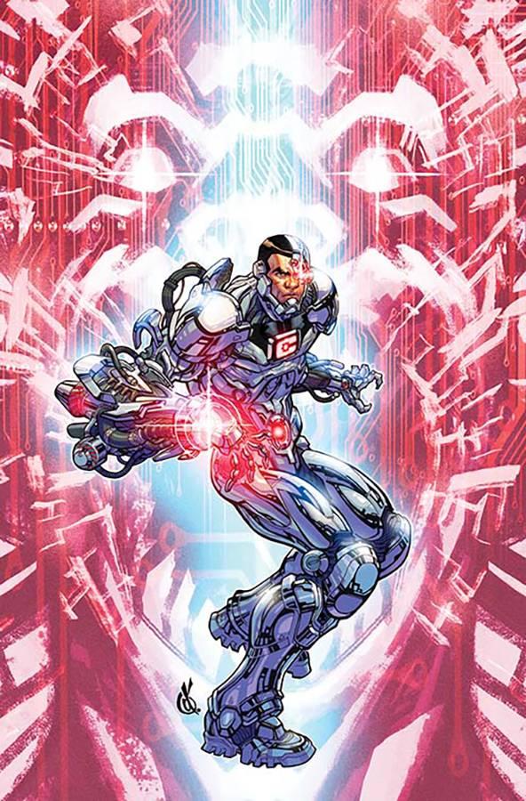 Cyborg #9 (Cover B Carlos D'Anda)