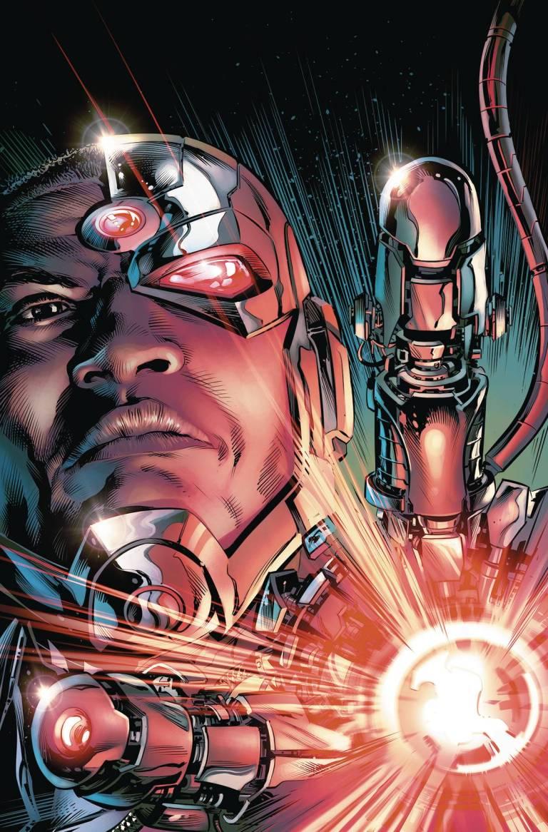 Cyborg Rebirth #1 (Cover A Will Conrad)