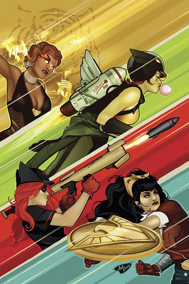 DC Comics Bombshells #24 (Ant Lucia Cover)