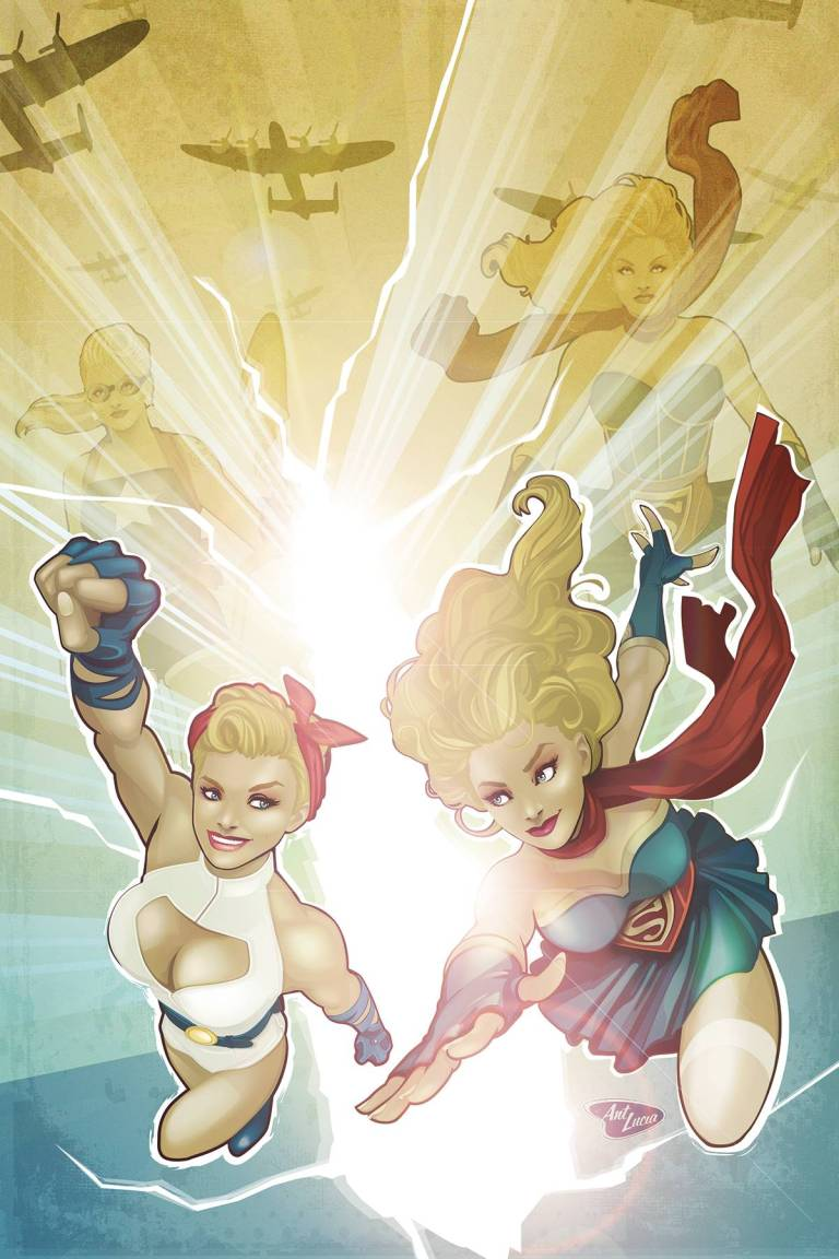 DC Comics Bombshells #29 (Marguerite Sauvage Cover)