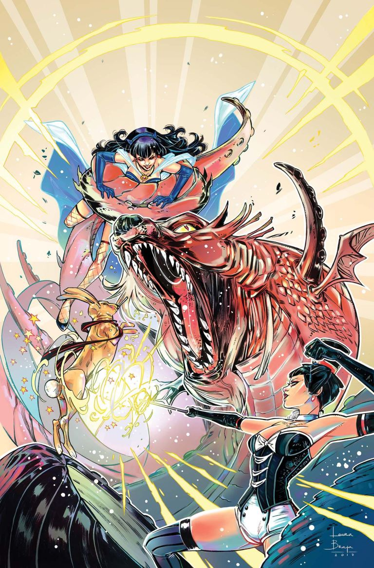 DC Comics Bombshells #30 (Laura Braga Cover)