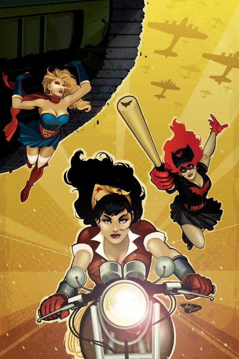 DC Comics Bombshells #33 (Ant Lucia Cover)