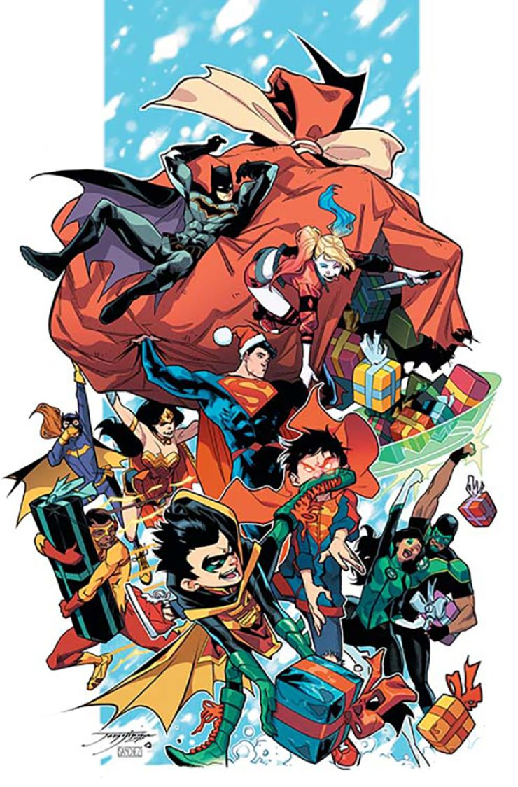 DC Rebirth Holiday Special #1 (Jorge Jimenez Cover)
