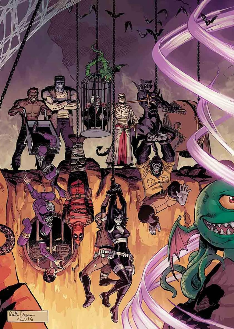 Deadpool And The Mercs For Money #10 (Cover A Reilly Brown)