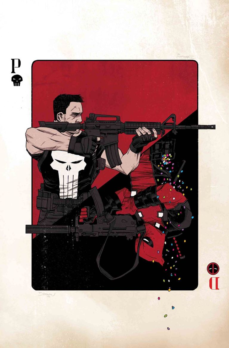 Deadpool Vs The Punisher #1 (Cover A Declan Shalvey & Jordie Bellaire)