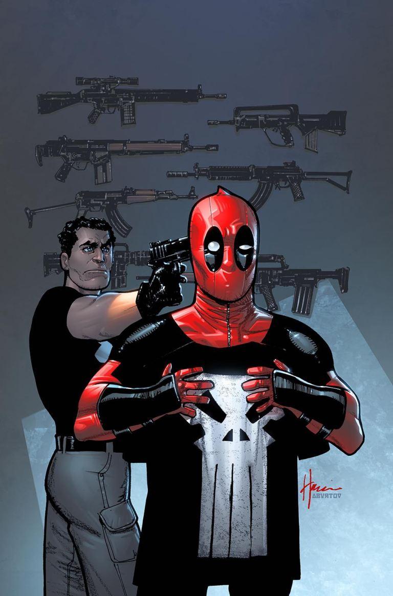 Deadpool Vs The Punisher #2 (Cover C Howard Chaykin)