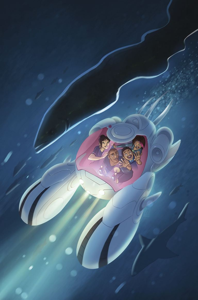 Deep #3 (Cover A James Brouwer)