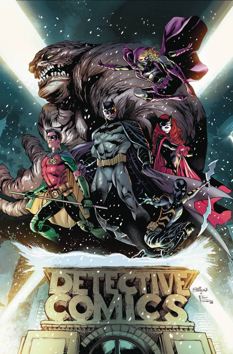Detective Comics #934 (Eddy Barrows & Eber Ferreira Regular Cover)
