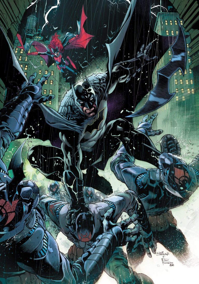 Detective Comics #935 (Eddy Barrows & Eber Ferreira Regular Cover)