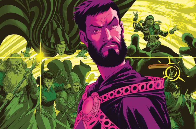 Doctor Strange And The Sorcerers Supreme #12 (Javier Rodriguez Cover)