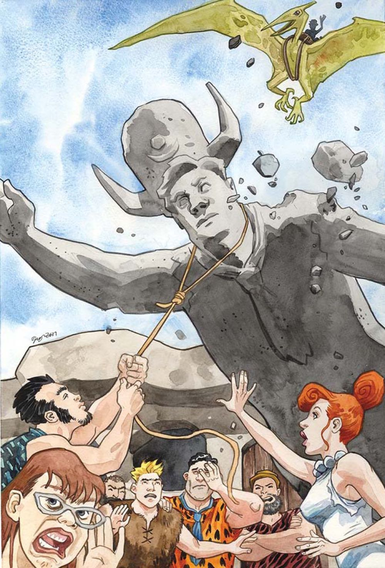 Flintstones #11 (Cover A Jill Thompson)