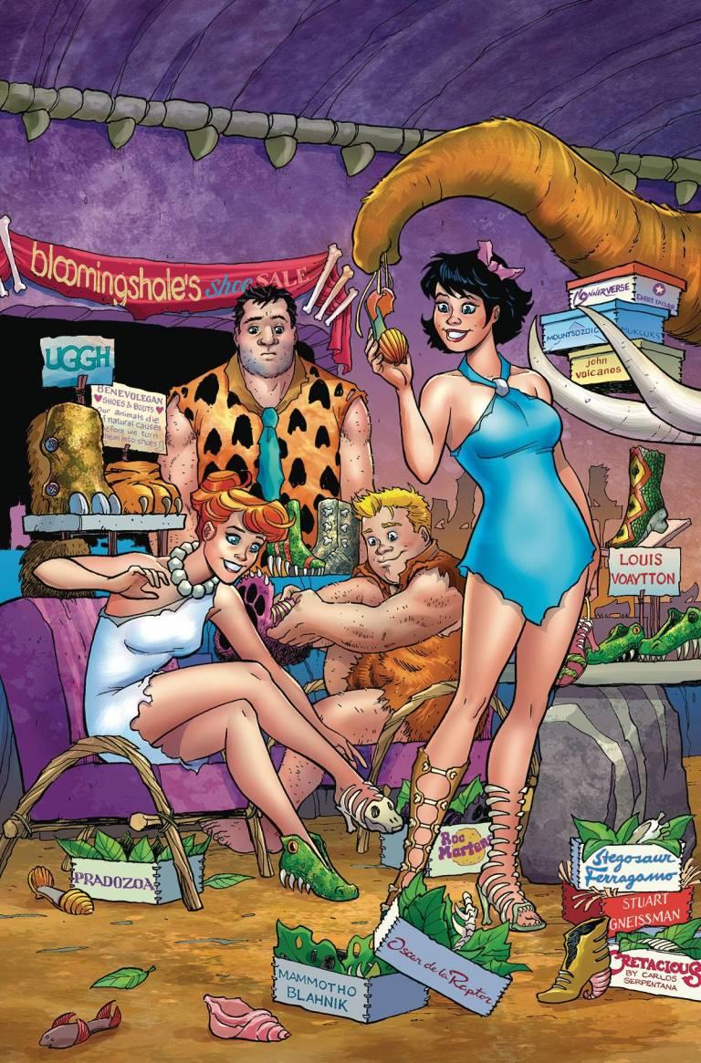 Flintstones #2 (Cover A Amanda Conner)