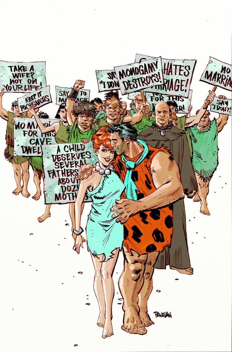 Flintstones #4 (Cover A Dan Panosian)