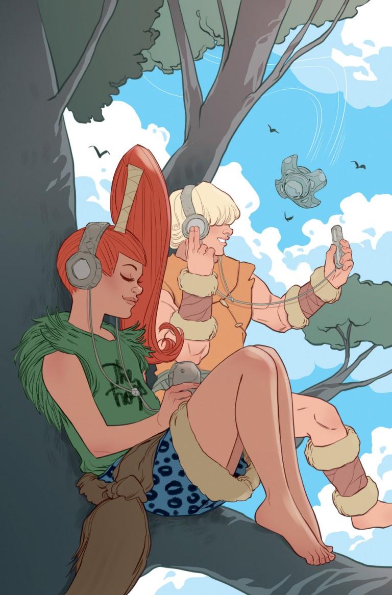 Flintstones #7 (Cover B Marguerite Sauvage)