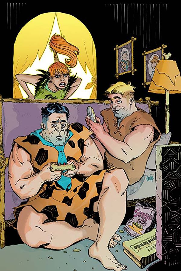 Flintstones #8 (Cover A Cully Hamner)