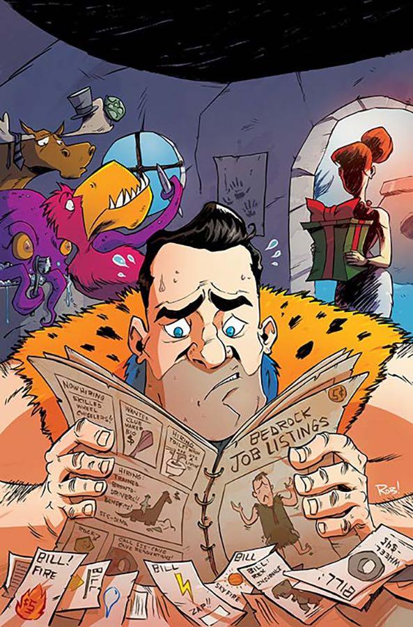 Flintstones #9 (Cover B Rob Guillory)