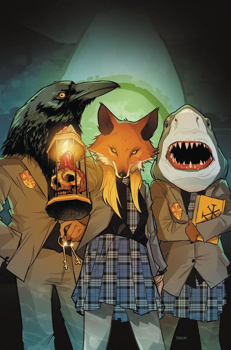 Gotham Academy Second Semester #10 (Karl Kerschl Cover)