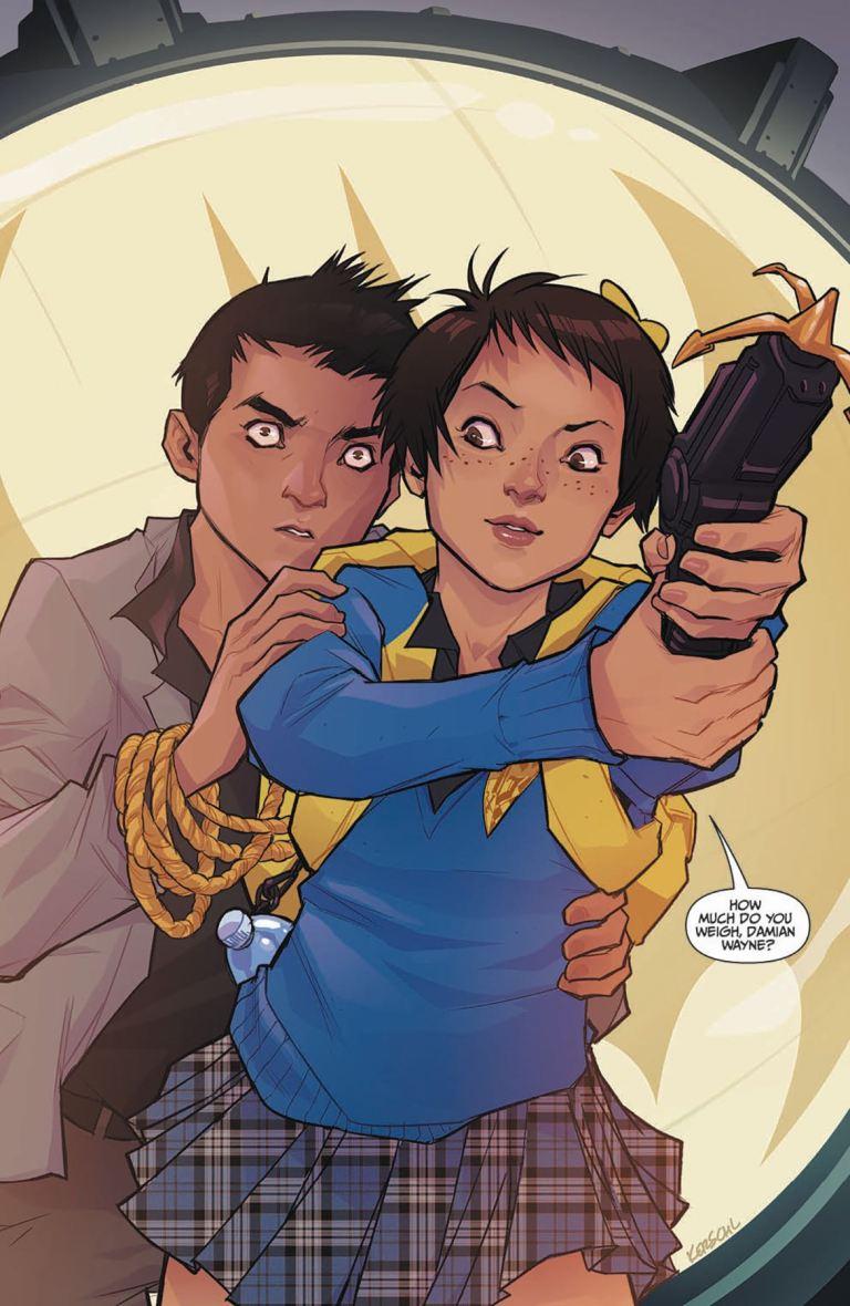 Gotham Academy Second Semester #11 (Karl Kerschl Cover)