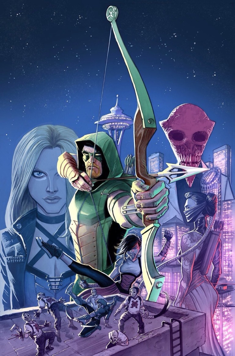 Green Arrow #1 (Cover A Juan Ferreyra)