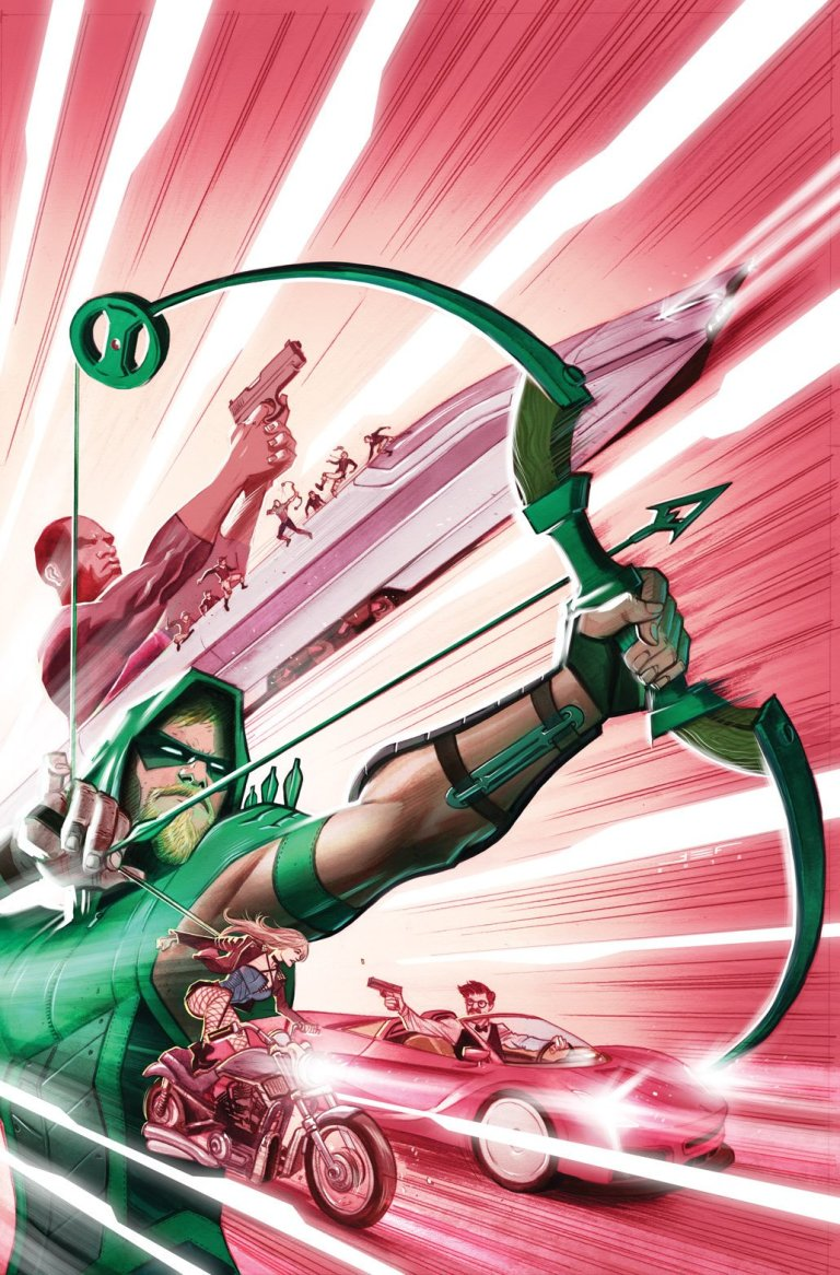 Green Arrow #11 (Cover A Juan Ferreyra)