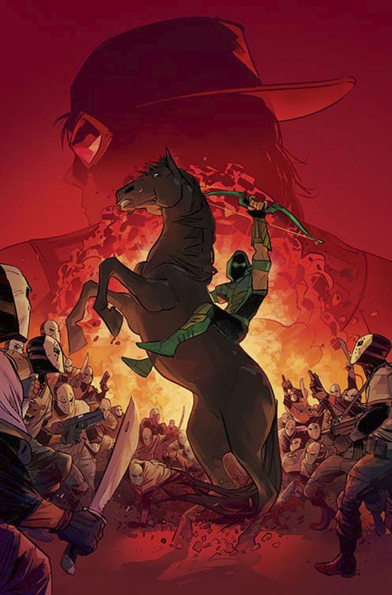 Green Arrow #19 (Cover A Otto Schmidt)