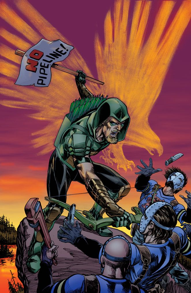 Green Arrow #20 (Cover B Mike Grell)
