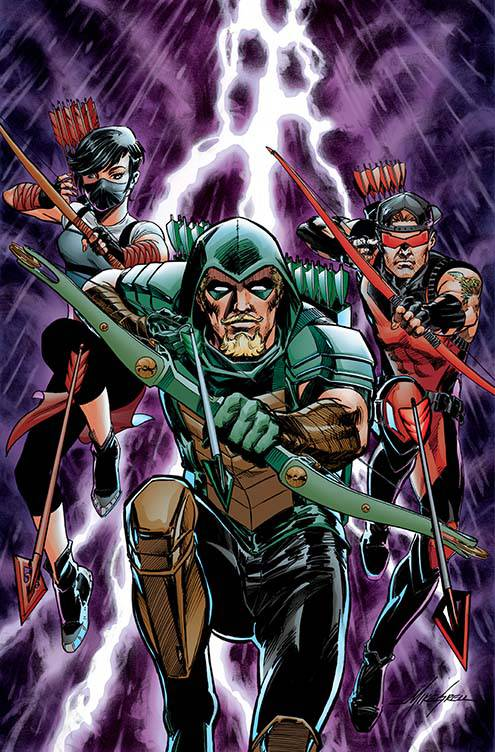 Green Arrow #23 (Cover B Mike Grell)
