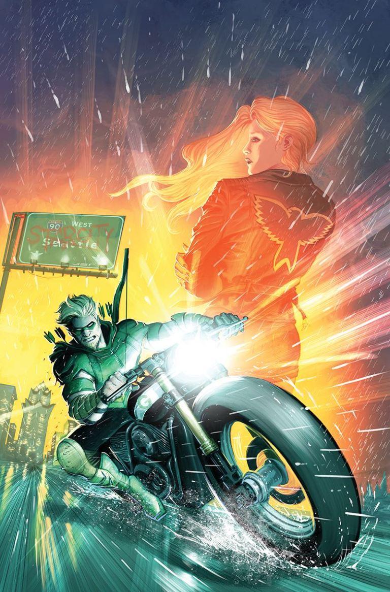 Green Arrow #25 (Cover A Otto Schmidt)