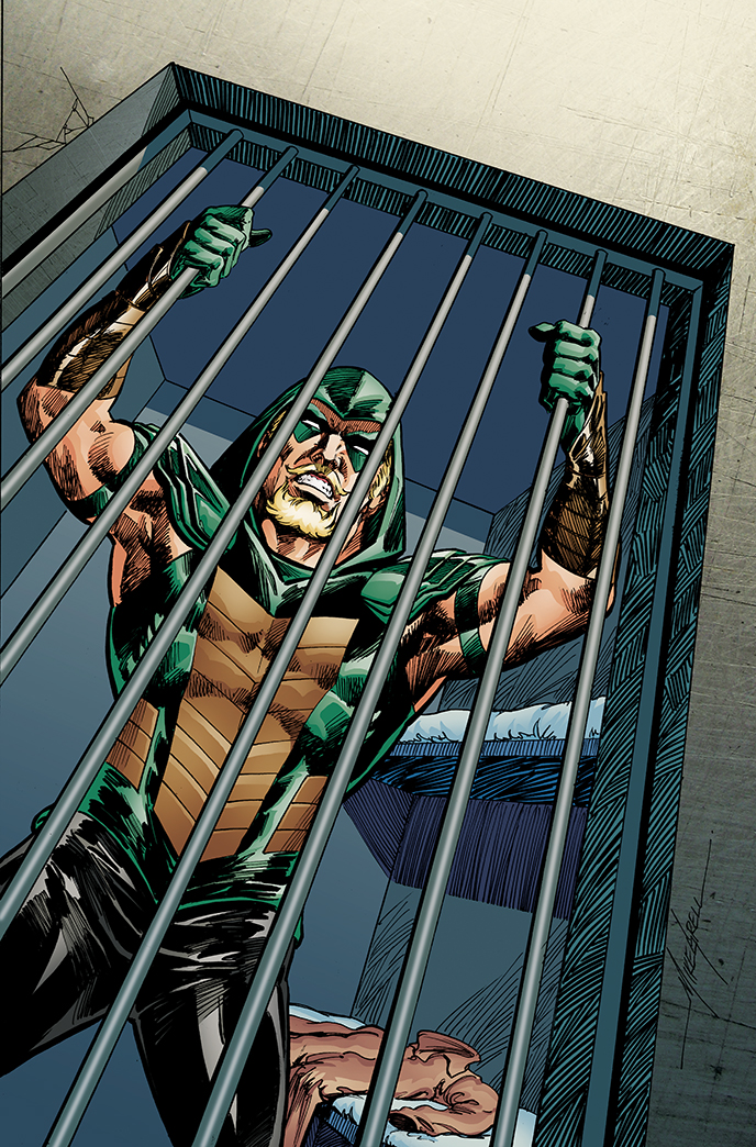 Green Arrow #25 (Cover B Mike Grell)