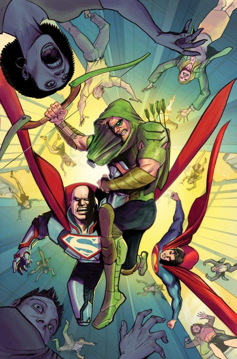 Green Arrow #28 (Cover A Otto Schmidt)