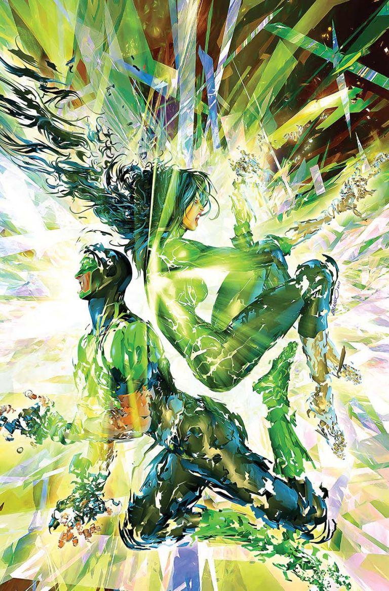 Green Lanterns #26 (Cover B Brandon Peterson)