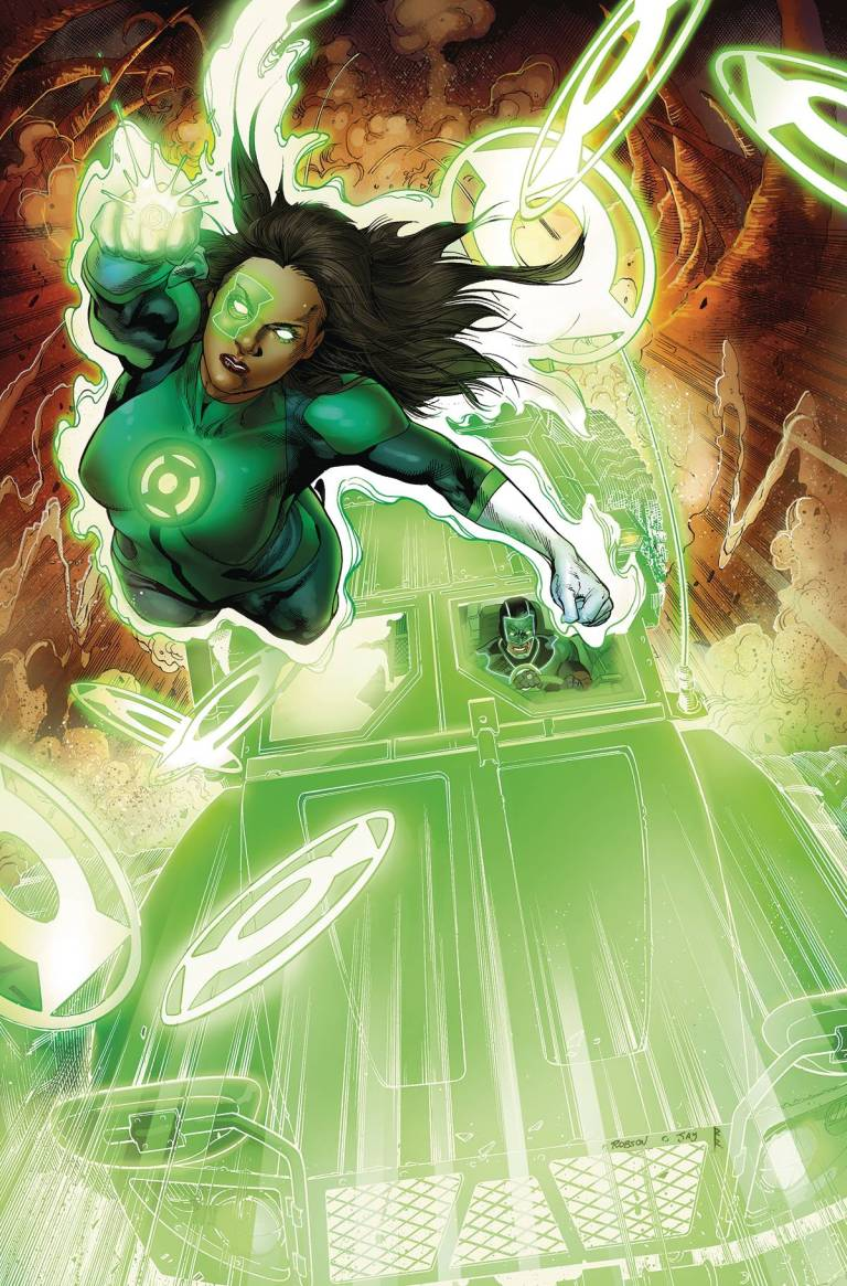 Green Lanterns #4 (Cover A Robson Rocha)