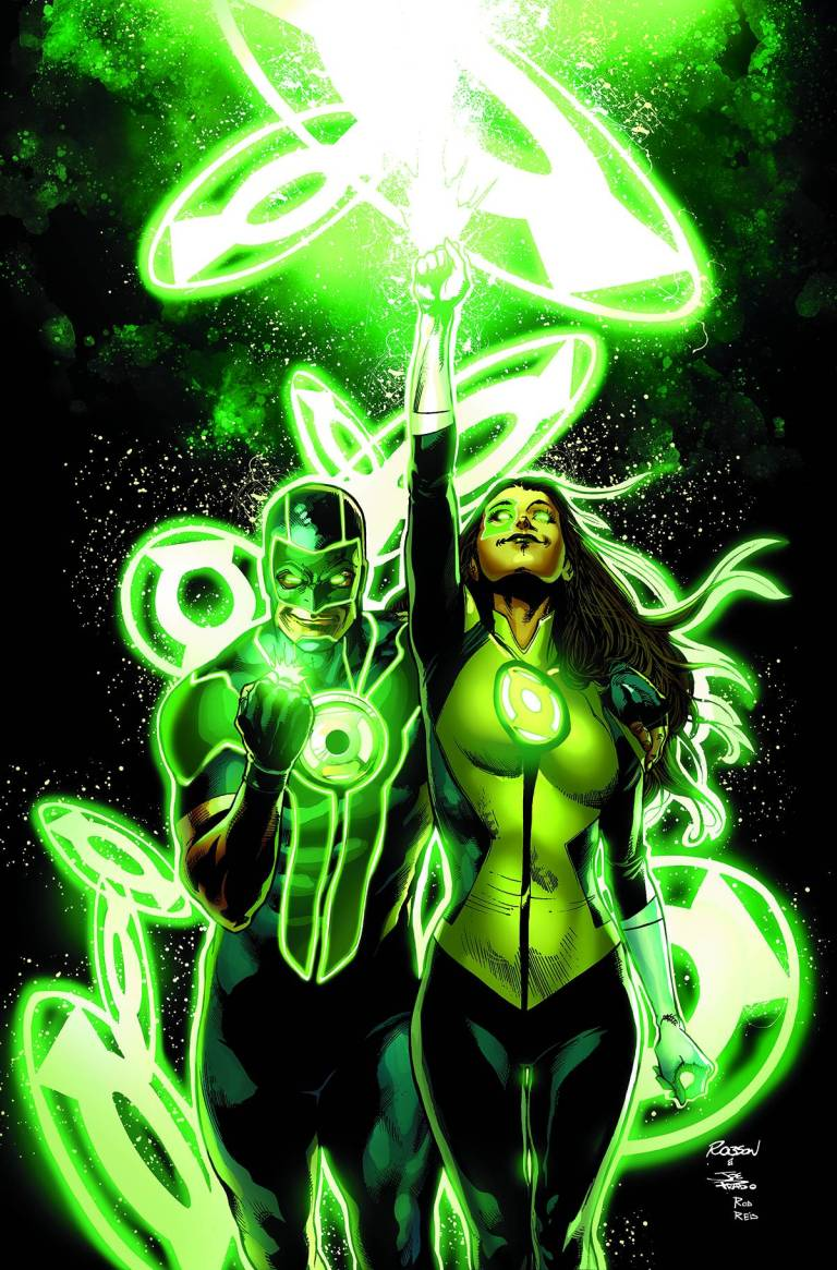 Green Lanterns #8 (Cover A Robson Rocha & Joe Prado)