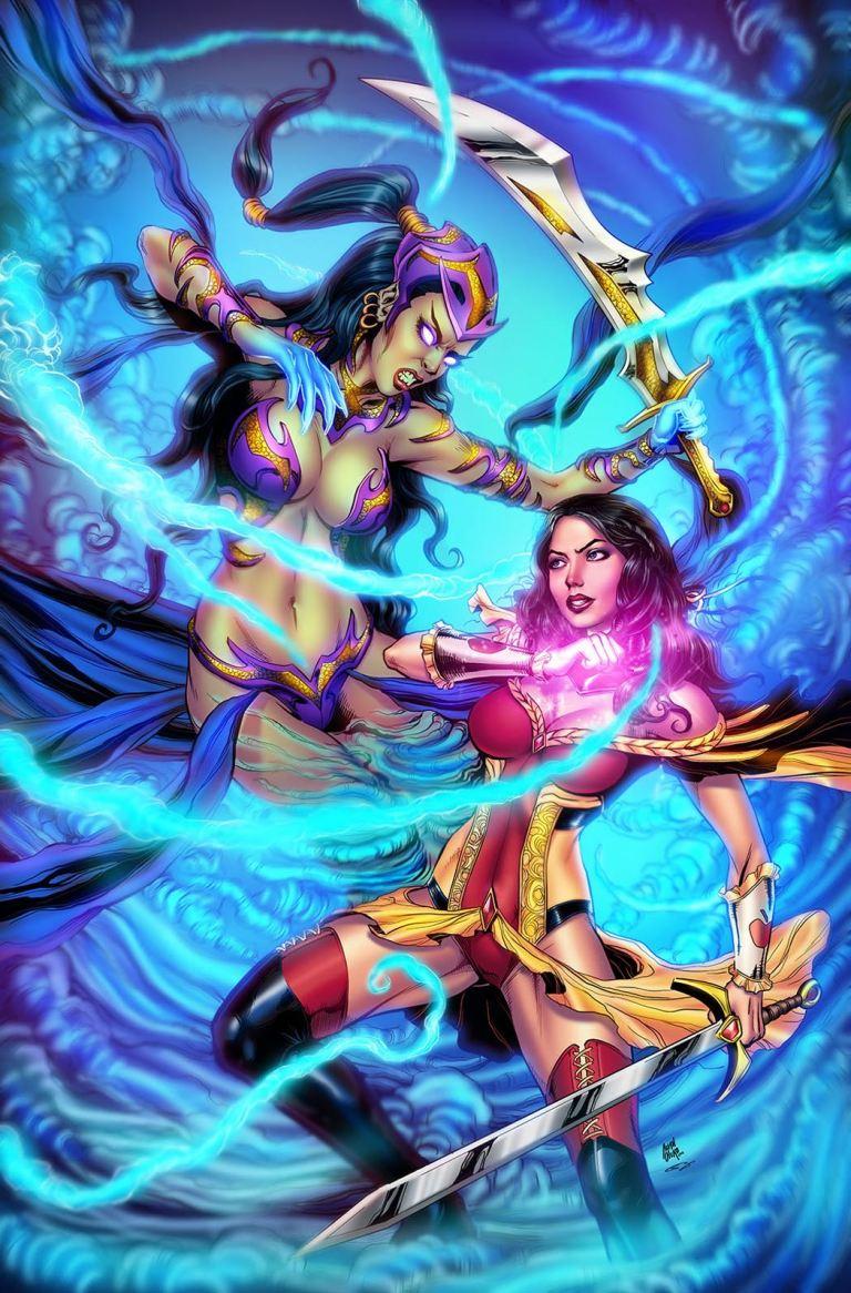 Grimm Fairy Tales #3 (Cover B Allan Otero)