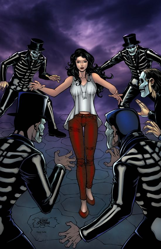 Grimm Fairy Tales Day of the Dead #1 (Cover B Noah Salonga)