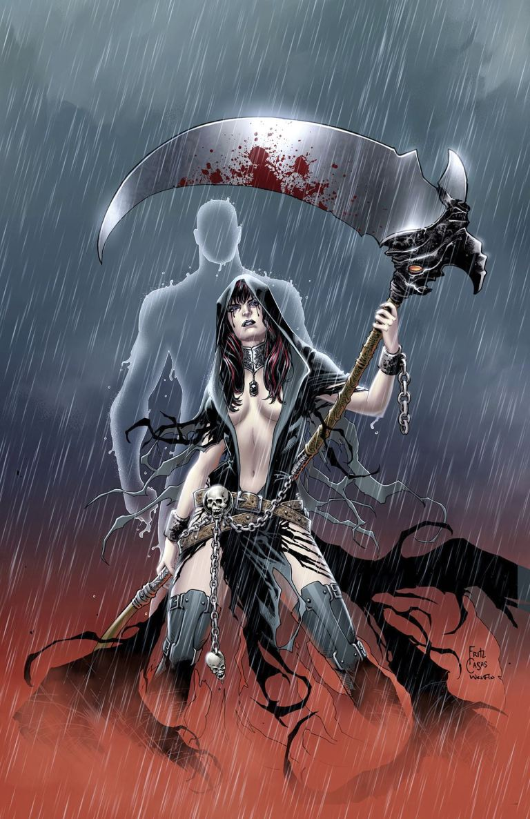 Grimm Fairy Tales Grimm Tales of Terror #1 (Cover C Fritz Casas)