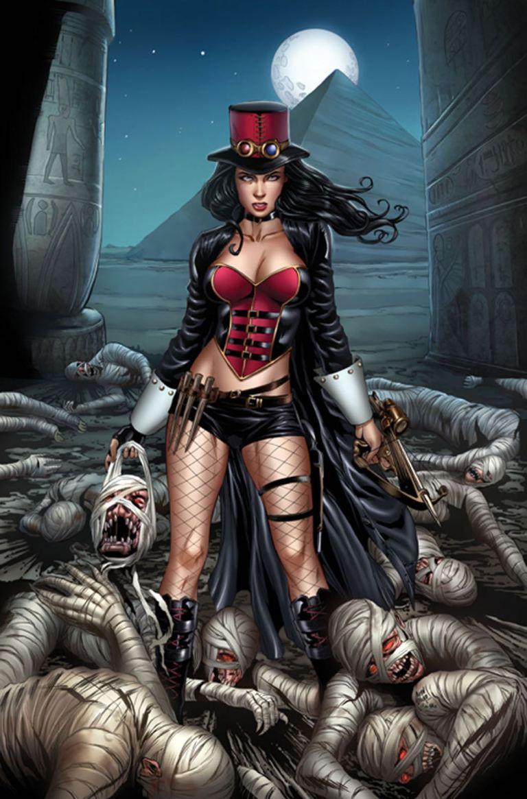 Grimm Fairy Tales Van Helsing vs. The Mummy of Amun Ra #2 (Cover A Allan Otero)